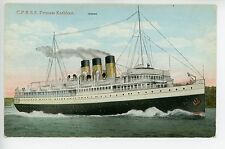 CPRSS Princess Kathleen -- Canadian Steamship Boat Vancouver 1920s