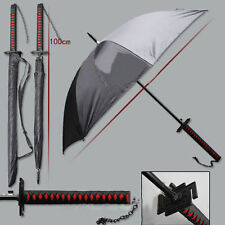 Bleach Samurai Katana Kurosaki ichigo Sword Umbrella Cos Props Warrior Umbrellas