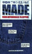 How Things Are Made : From Automobiles to Zippers by Neil Schlager and Sharon Ro