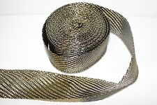 5M Titanium Heat Wrap & 10 Ties For Alfa Romeo 145147 155 156 164 GTA Spider