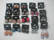 Wholesale Lot of 20 Pairs of Earrings Stud Dangle New #02