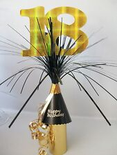 18th BIRTHDAY PARTY TABLE DECORATION~ CENTREPIECE~ALL AGES~