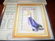 CELTIC SPRING CROSS STITCH CHART LAVENDER & LACE