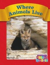 Where Animals Live (Compass Point Phonics Readers)