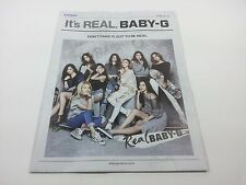 SNSD Girls' Generation Casio Baby-G Vol.3 type B Event Folded poster K-POP Idol