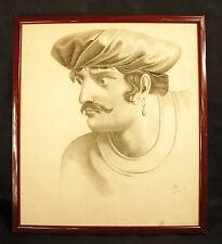Jeune-homme à la boucle d'oreille, marin dessin dec1907 Young-man earring seaman