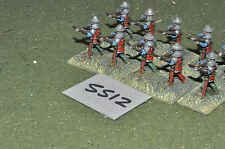 25mm medieval crossbowmen 10 infantry (5512) metal painted