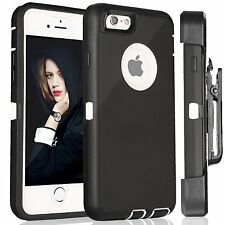 NEW Defender Case w Belt Clip for iPhone  ( Holster Fits Otterbox Defender