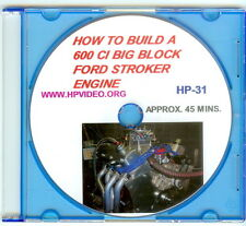 "How to build a 600ci BBF Ford 460 Stroker Engine Video Manual ""DVD"" 957HP!"