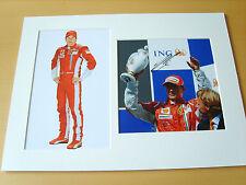Kimi Raikkonen Genuine Autograph - UACC / AFTAL.