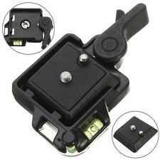 QR-40 Quick Release Adapter Assembly Platform QR Plate Mount Base Dslr Camera