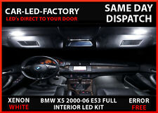 BMW X5 E53 2000-06 INTERIOR FULL LED UPGRADE LIGHTING 21 LED REPLACEMENT BULBS