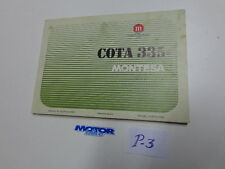 Montesa Cota 335 MANUAL CATALOG ORIGINAL (box P-3)