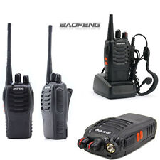 Baofeng BF-888S Walkie Talkie Interphone 16CH 5W UHF Funkgerät Sprech 400-470MHz