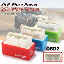 OBD2 Performance Chip Tuning Box Plug & Drive Fuel Saver For Benzine Diesel Car