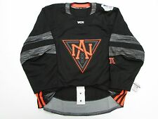 NORTH AMERICA AUTHENTIC BLACK WORLD CUP OF HOCKEY TEAM ISSUED ADIDAS JERSEY 58
