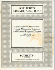 Sotheby's- Silver, Dec Arts, Miniatures, Furniture - Tiffany, Canton, Audobon