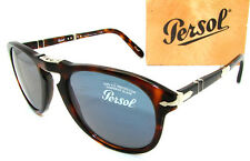 Authentic PERSOL Steve McQueen 714SM Folding Sunglass PO 714 - 24/56 *NEW* 52mm