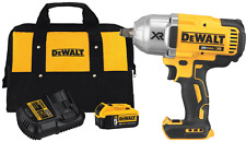 "NEW Dewalt XR 20V 1/2"" High Torque Impact Wrench Combo 5.0ah Battery #DCF899HBXP"