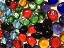 Small Mixed Glass Gems, Mosaic Tiles, Nuggets, Pebbles (1LB)