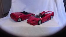 Ferrari F50 &  Mythos  1/18th scale die cast cars