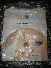 MAC Cosmetics Viva Glam GAGA Staff Promo Tee T-Shirt Sz 1 NIP Authentic RARE ��