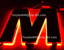 Vintage Neon CHANNEL LETTER,metal SIGN,building sign,12'' tall