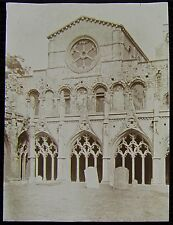 Glass Magic Lantern Slide LIBRARY CANTERBURY CATHEDRAL C1901 PHOTO ENGLAND KENT