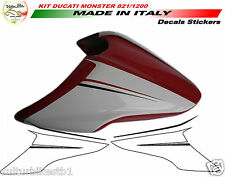 Kit adesivi per cover ducati monster 821 1200 decal stickers top quality