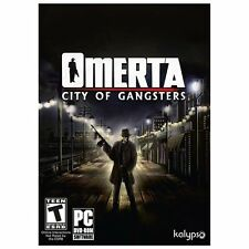 Omerta: City of Gangsters Brand New - Factory Sealed (PC, 2013) Free Shipping!