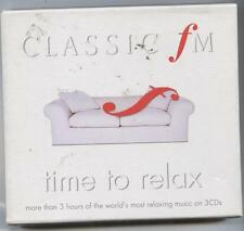 Classic FM-Time To Relax 3 CD BOXSET