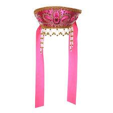 "Russian Traditional Folk Costume - Headdress Kokoshnik ""Victoria"" pink #010501"