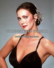 "Lynda Carter Wonder woman 10"" x 8"" Photograph no 18"