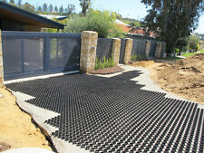 GrassRing Plastic Turf Paver - Made with Recycled Plastic, 400t load per sqm