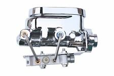 1964-66 chrome master cylinder with disc/disc prop valve M_694
