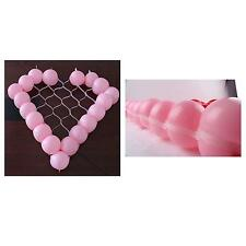 Wall Balloon Grid Modeling Plastic Heart-Shaped For Birthday Wedding Party Decor