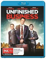 Unfinished Business : NEW Blu-Ray