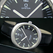 OMEGA Seamaster Cosmic Vintage 1968s Winding Steel Mens Watch Black Radium