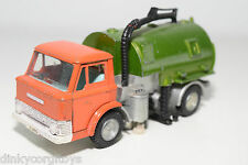 DINKY TOYS 451 JOHNSTON ROAD SWEEPER ORANGE MET. GREEN EXCELLENT CONDITION