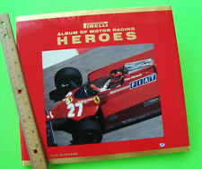 PIRELLI ALBUM OF MOTOR RACING HEROS by John Surtees H-C w/ DJ - PHOTOGRAPHS Mint