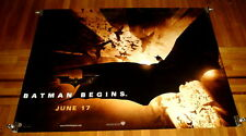 BATMAN BEGINS 5FT subway MOVIE POSTER 2005 THE DARK KNIGHT CHRISTIAN BALE