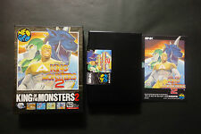 KING OF THE MONSTERS 2 SNK Neo Geo AES Very.Good.Condition JAPAN