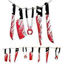 8 Spooky Halloween Party Haunted Bloody Garland House Hanging Banner Decoration