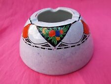 ROYAL WINTON Grimwades 1930's Art Deco Vintage Hand Painted Round Dome Ashtray