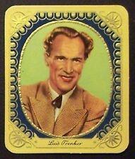 Luis Trenker 1934 Garbaty Film Star Series 2 Embossed Cigarette Card #172