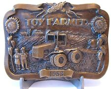 Steiger Tiger Puma Panther Tractor 1983 Toy Farmer  Limited Edition Belt Buckle