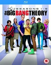 The Big Bang Theory Complete Set Season 1-9 1 2 3 4 5 6 7 8 9 [Blu-Ray] Box Set