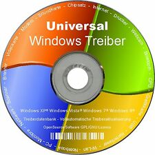 Universal Treiber CD/DVD für Computer PC Notebook mit Windows XP Vista 7 8 32/64