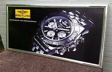 BREITLING dealerdisplay 100% Original & GOOD CONDI RARE DEALER DISPLAY poster