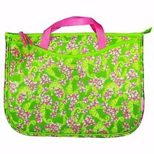 Lilly Pulitzer Neoprene Laptop Sleeve Tote; Seahorse Floaters